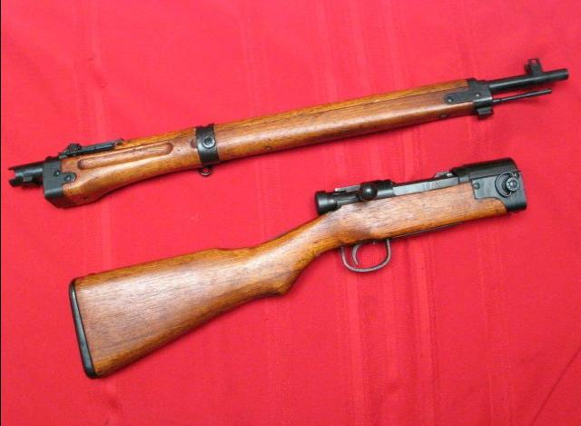 Military Surplus Auction >> Japanese Type 2 Paratrooper Rifle